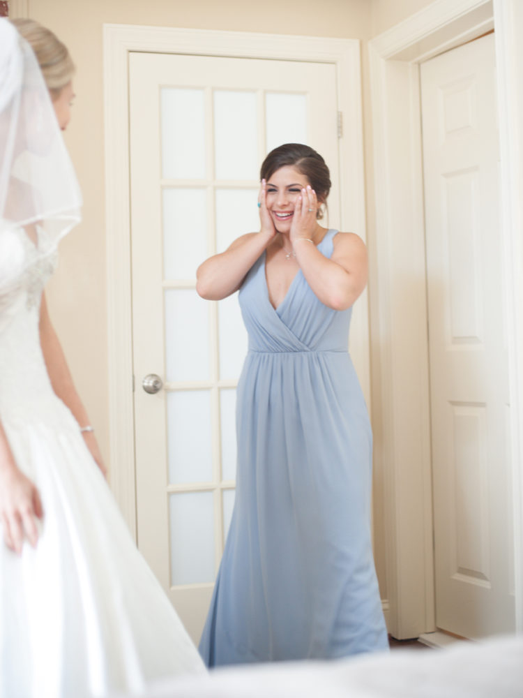 maid of honor wedding photography